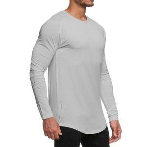 ASRV 0149. Silver-Lite® Long Sleeve - Light Grey
